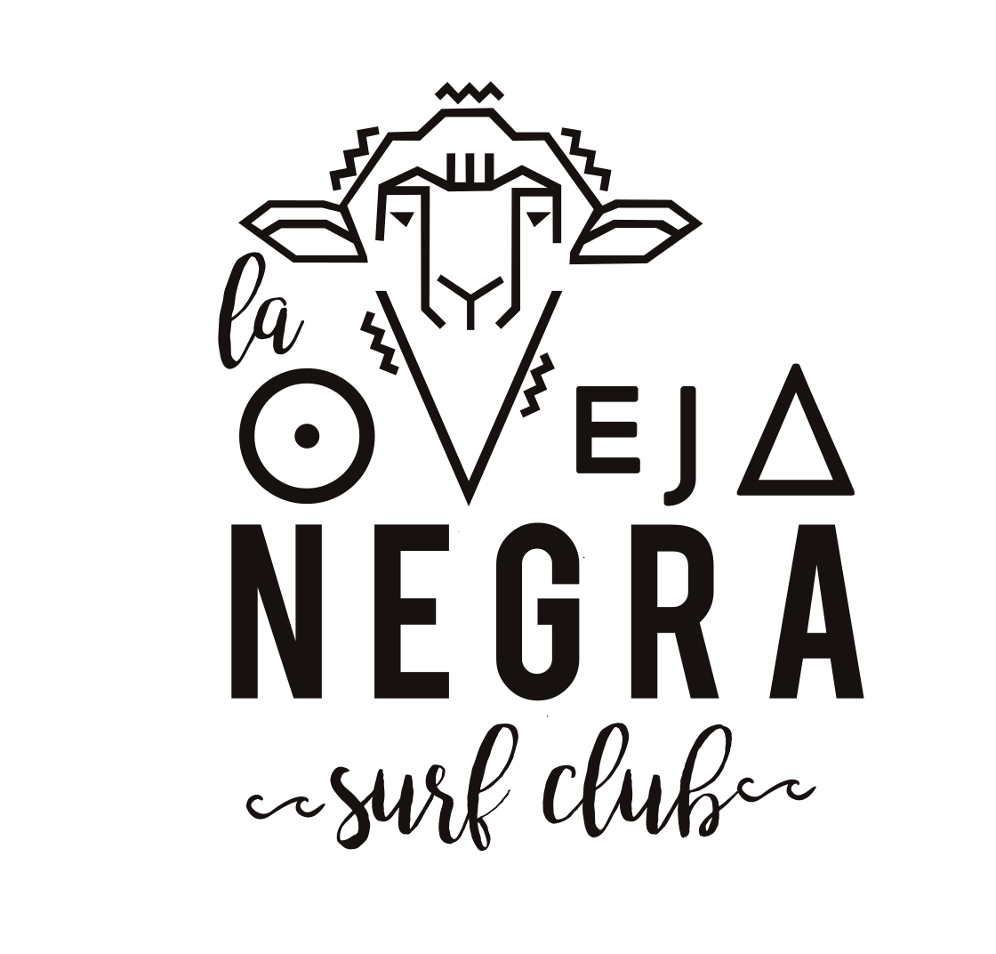 La Oveja Negra Hostel and Surf Club Tamarindo Logo
