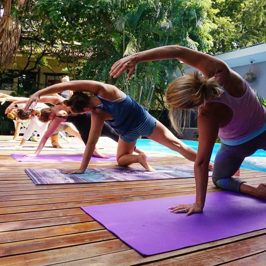 Tamarindo Yoga - La Oveja Negra Hostel & Costa Rica Surf Camp